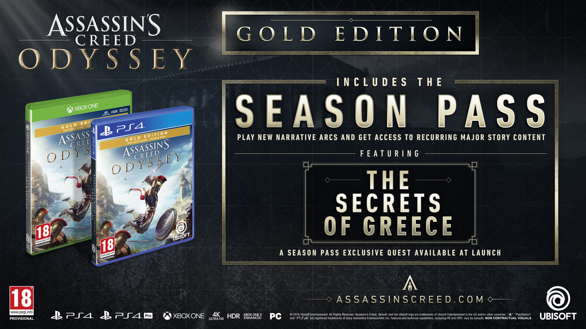 Content of Assassin's Creed: Odyssey editions - Ubisoft Support