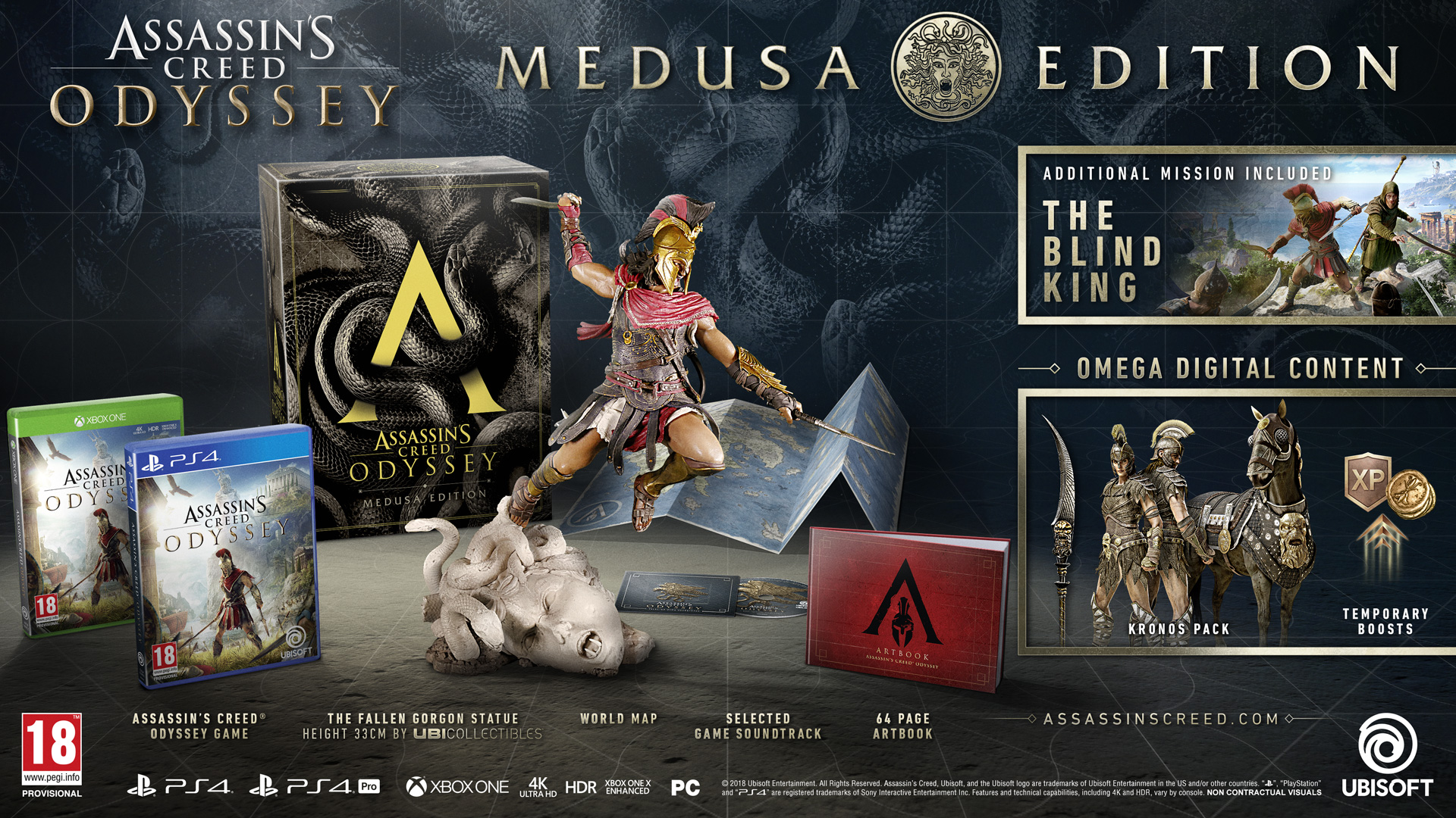 ac odyssey ultimate edition ps4