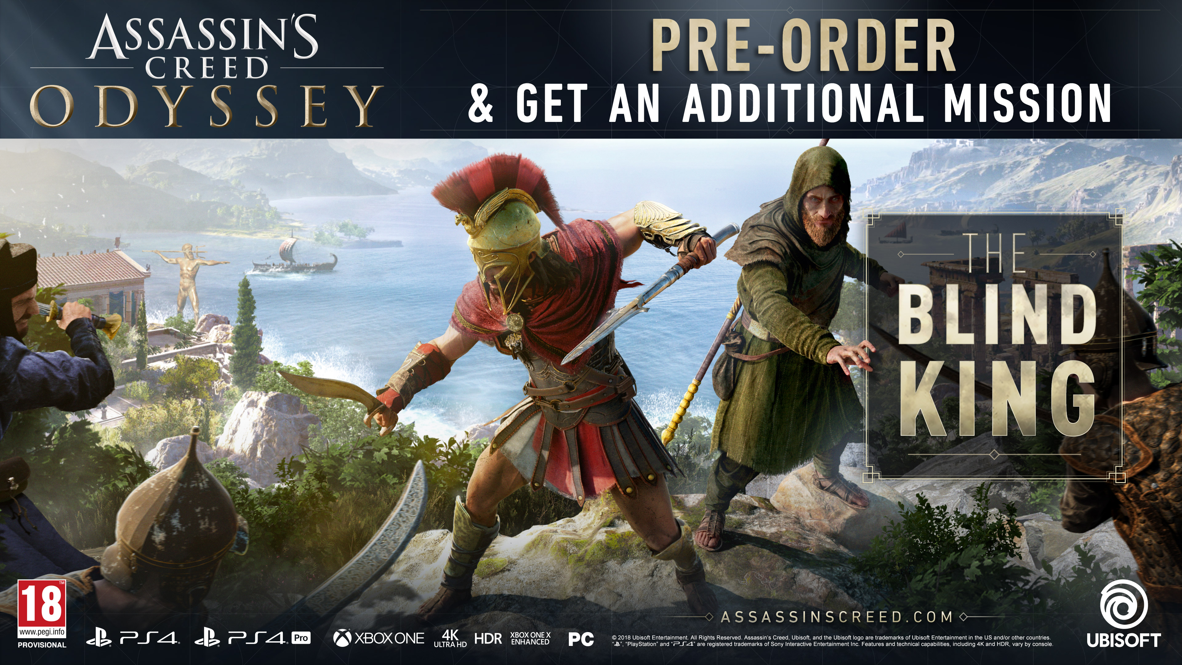 Redeeming an Assassin's Creed: Odyssey Preorder Code