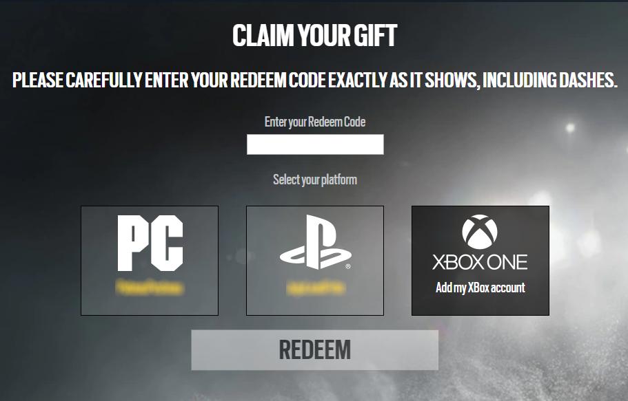 Code Inwisselen - Ubisoft Klanten Service