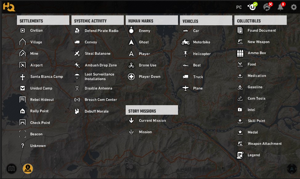 Ghost Recon Wildlands Karte.Features Of The Tom Clancy S Ghost Recon Wildlands Hq App Ubisoft