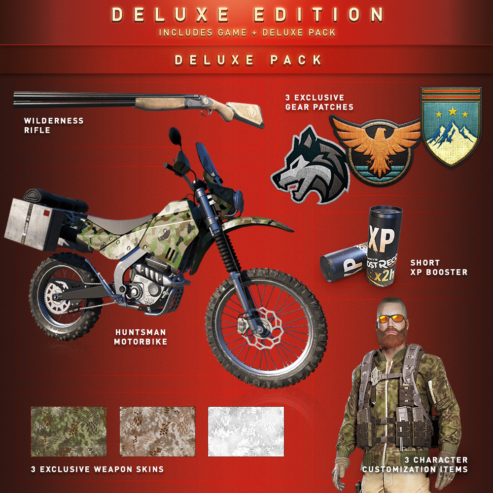 Contents Of Ghost Recon Wildlands Editions Ubisoft Support