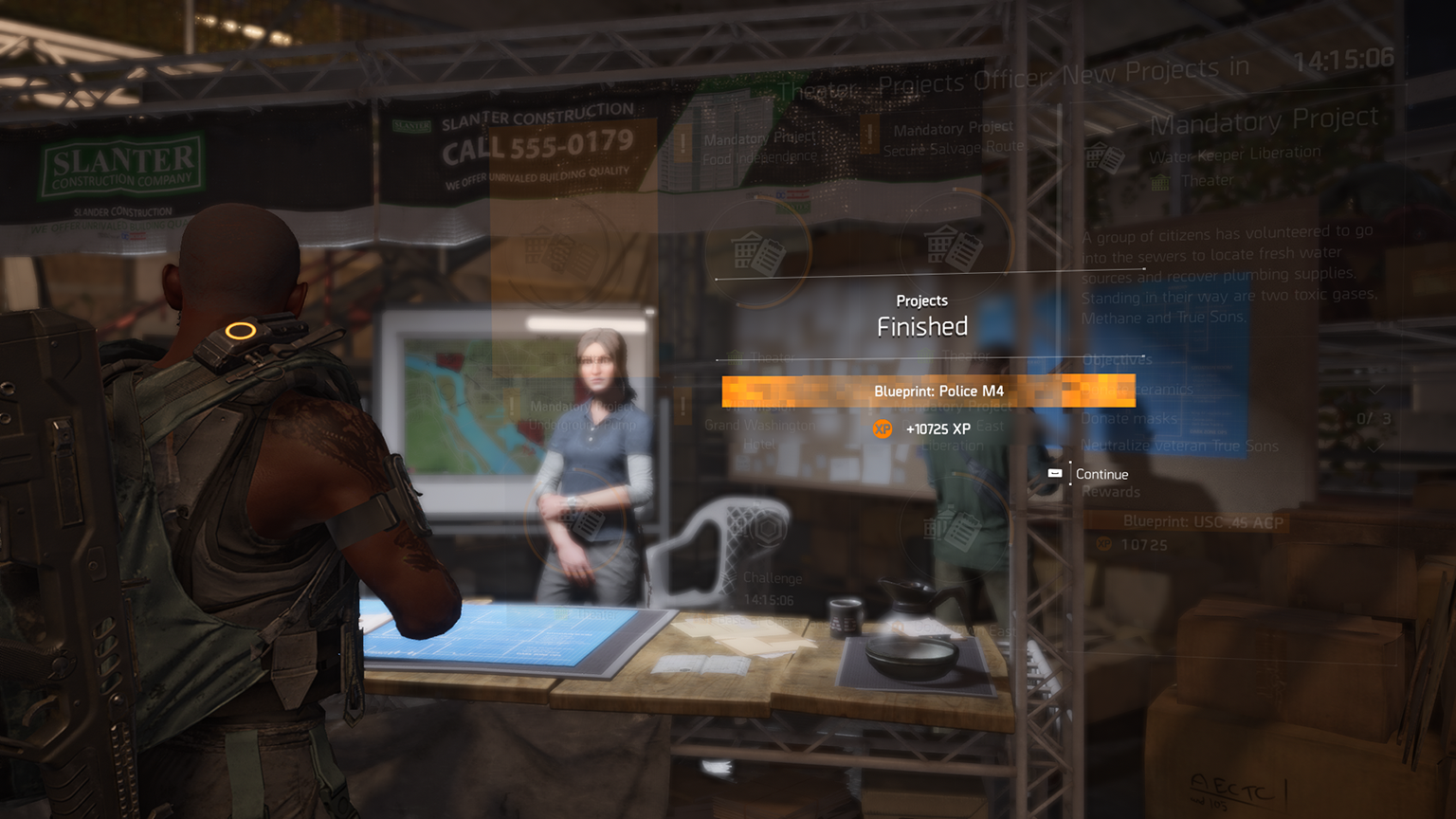 Projects in The Division 2 - Ubisoft Support