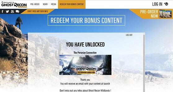 Bonus Content Code Redemption - Ubisoft Support