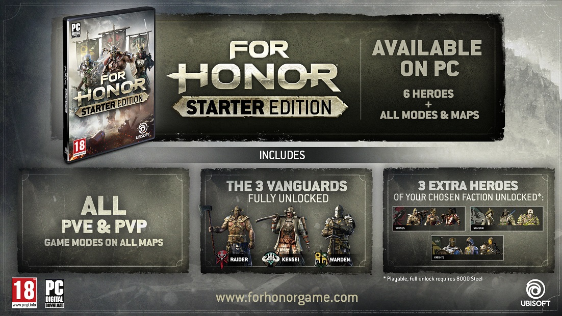for honor open beta download