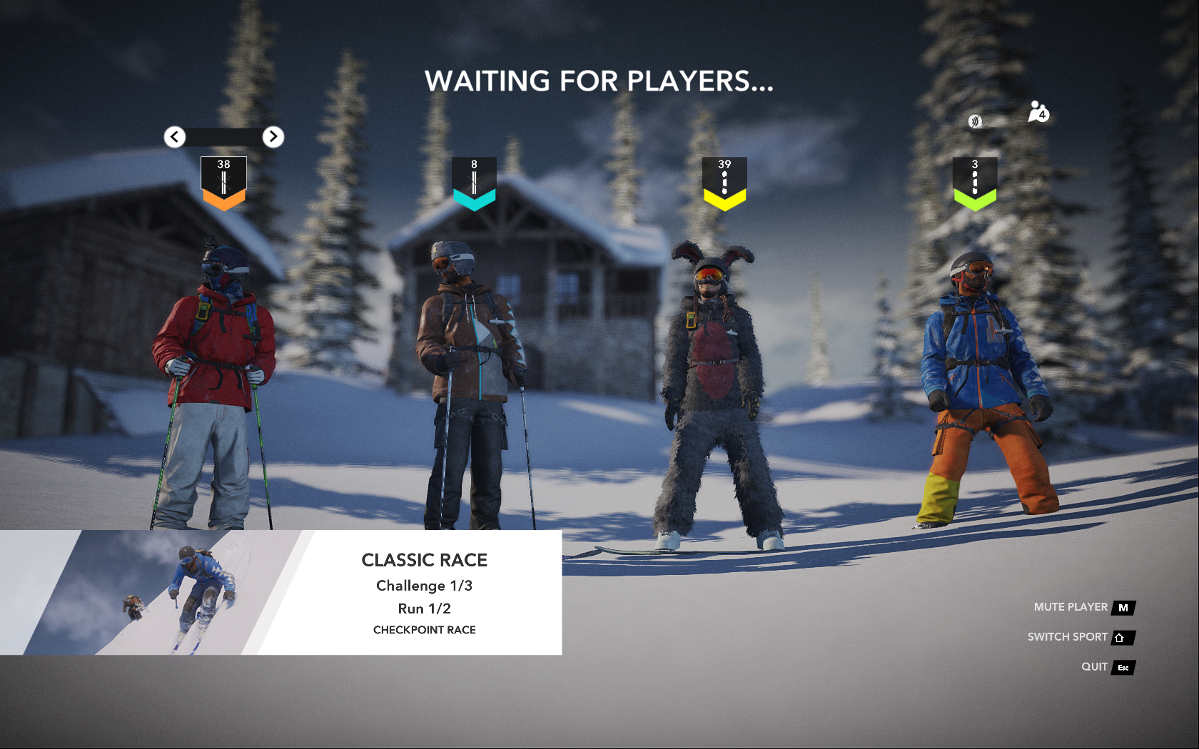 PvP Multiplayer beta lobby
