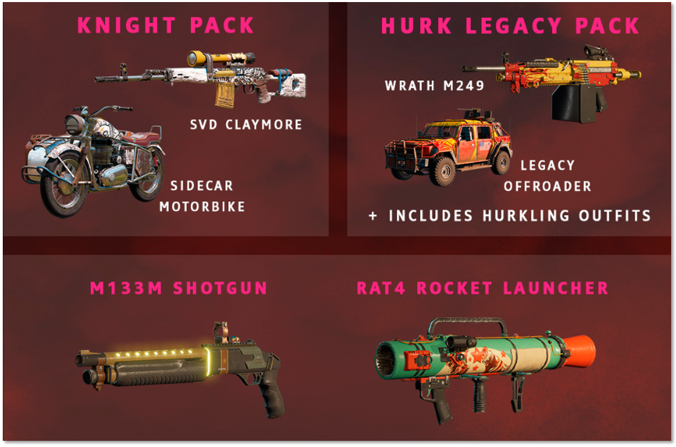 Image of the contents of the Deluxe Pack