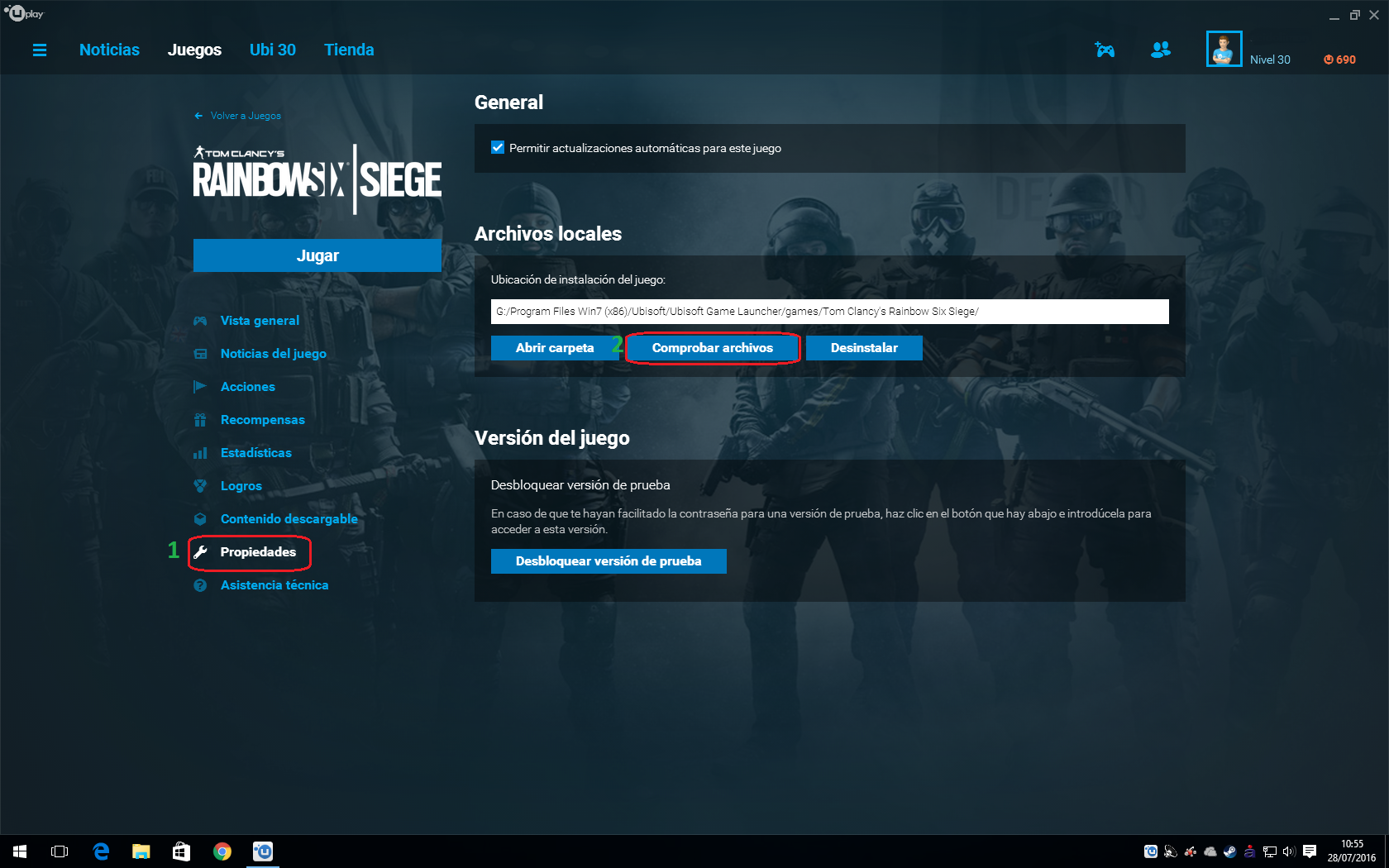 Preguntas Frecuentes sobre BattlEye - Atención al Cliente de Ubisoft