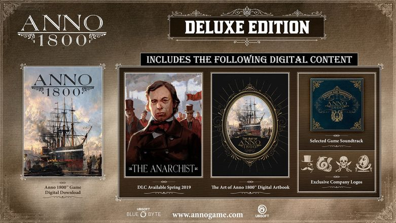 Anno 1800 Digital Deluxe Pack