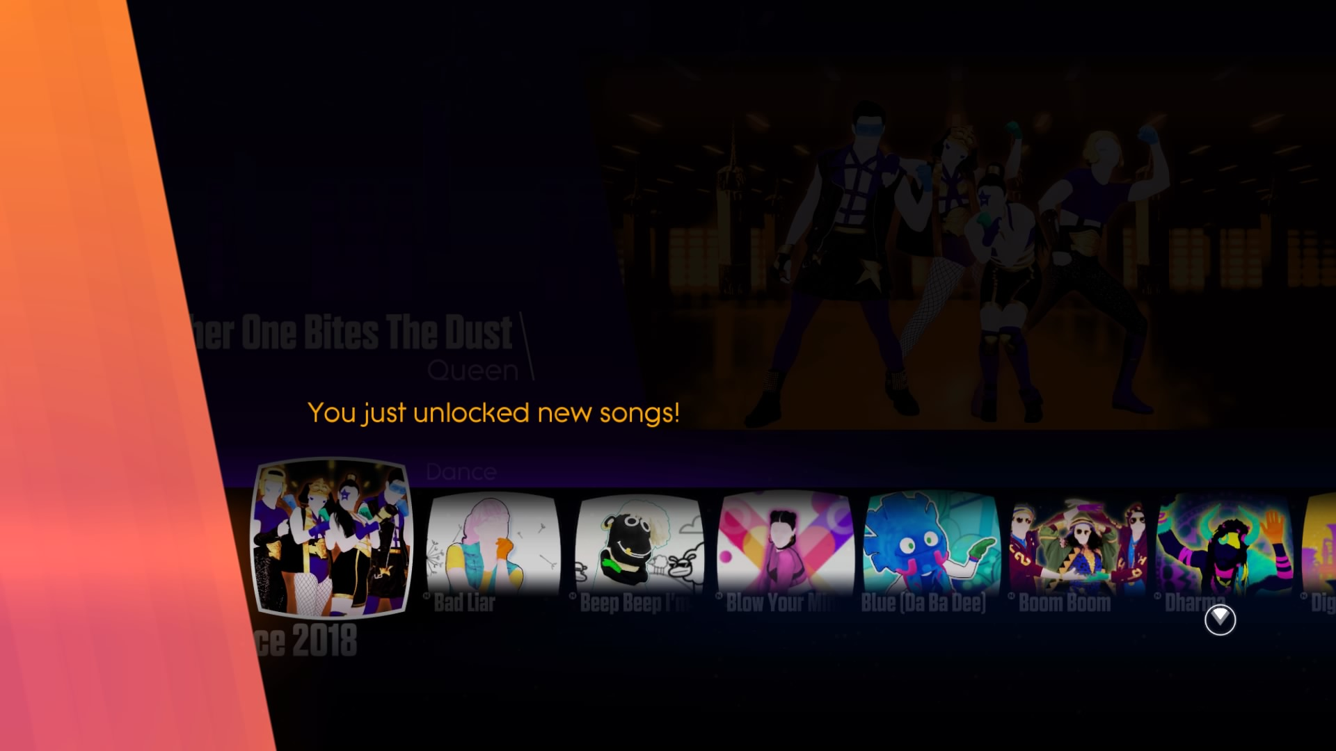 Unlocking all songs and features in Just Dance 2018