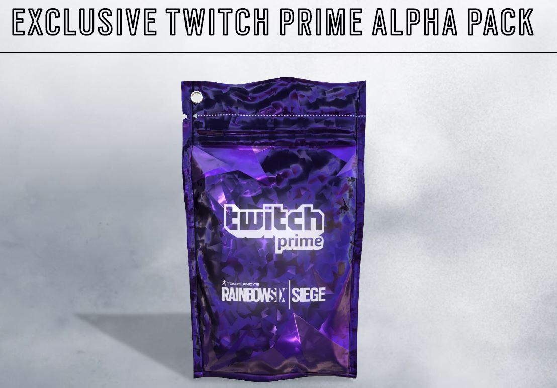 Twitch Prime - Claim your bonus content for Rainbow Six: Siege