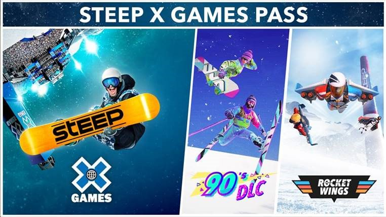 X-Games Pass logo showing available DLCs