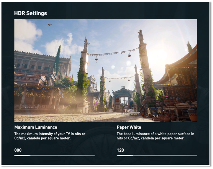 How to enable and manage HDR - Ubisoft Support