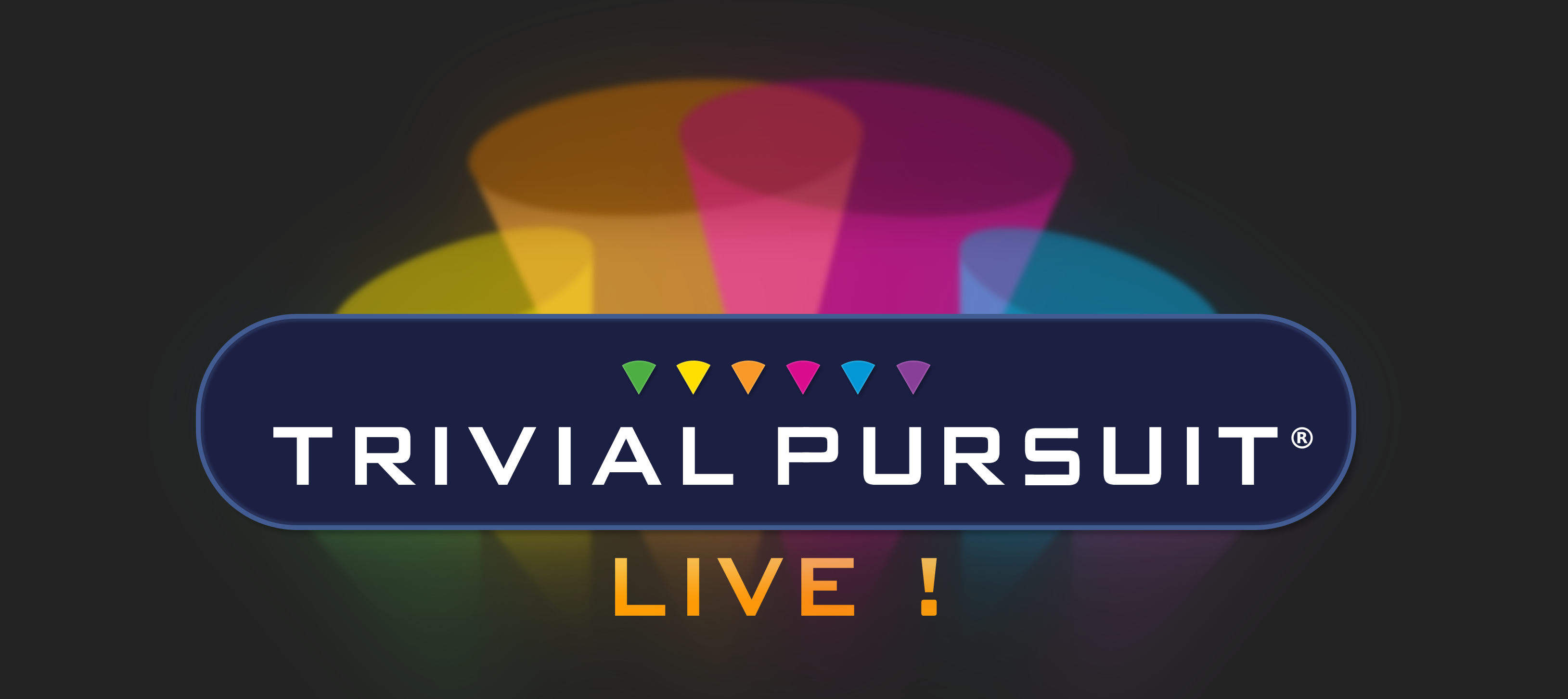 Trivial Pursuit Live! logo header