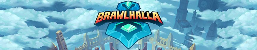 Nagłówek z logiem Brawlhalla