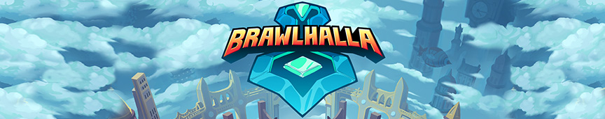 Brawlhalla logo header