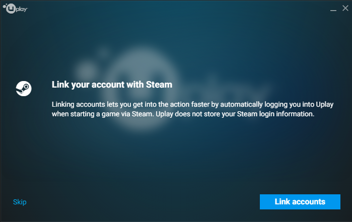 unlink uplay from steam